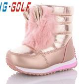 Зимние дутики, сапожки, ботинки, чобітки jong golf новая модель для девочек 4 модельки