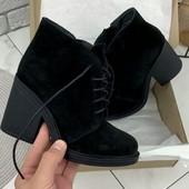 Сбор!!!Очень красивые замшевые демисезонные ботиночки. 36-40