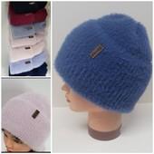 Стильные женские шапки.нитка альпака.Хит этого года!!!