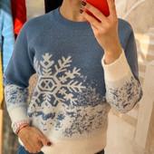 Мягусенькие зимние свитерки в одном размере