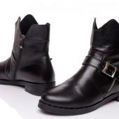 Ботинки зимние. Натуральная кожа и мех