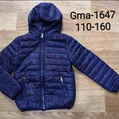 Куртки для девочек 110-160 рр. Венгрия