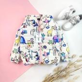 Детские демисезонные куртки на девочек от производителя (86-122) Легкие, яркие демисезонные к