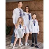 Вышиванки для всей семьи и не только