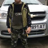 Камуфляжні спортивні для хлопчиків від 4 до 14 років.