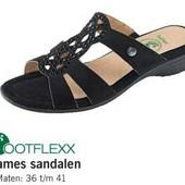 Акция Footflexx Германия 36-37-38-39-40-41 шикарные босоножки кожа, оригинал