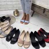 Женская обувь от производителя, босоножки, шлепки натуральная кожа, замша быстрая отправка