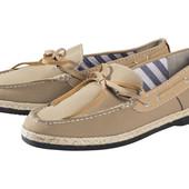 Livergy Швеция41-42-43-44-45 туфли мокасины, стелька кожа натуральная, премиум
