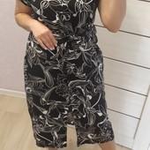 Платье-рубашка р 48-58 вискоза есть опт