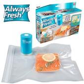 Вакуумный упаковщик ручной для продуктов