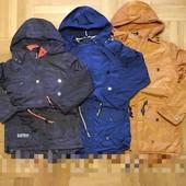 Модная куртка деми Grace на флисе с тонким синтапоном для мальчика 134-164 р