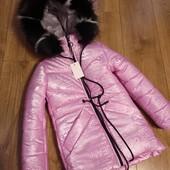 Очень крутой и большой выбор верхней одежды для девочек, быстрый сбор, остатки